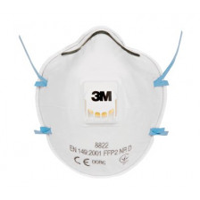 Protection mask with valve 8822 3M box 10 pieces