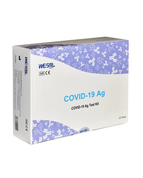 Rapid Antigen Test with nasal sample Wesail Biotech box 20 tests